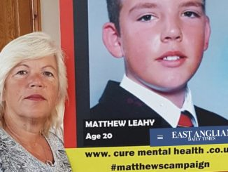 Melanie has endured an eight-year fight for answers over her son's death Picture: MELANIE LEAHY - Credit: MELANIE LEAHY